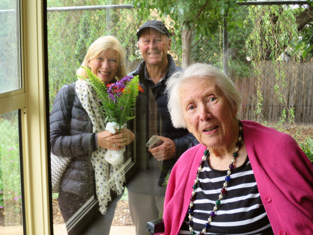 Arcare Aged Care Cheltenham Betty Visit