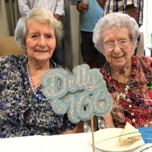 Arcare Aged Care Cheltenham Dolly 100th Birthday (1)