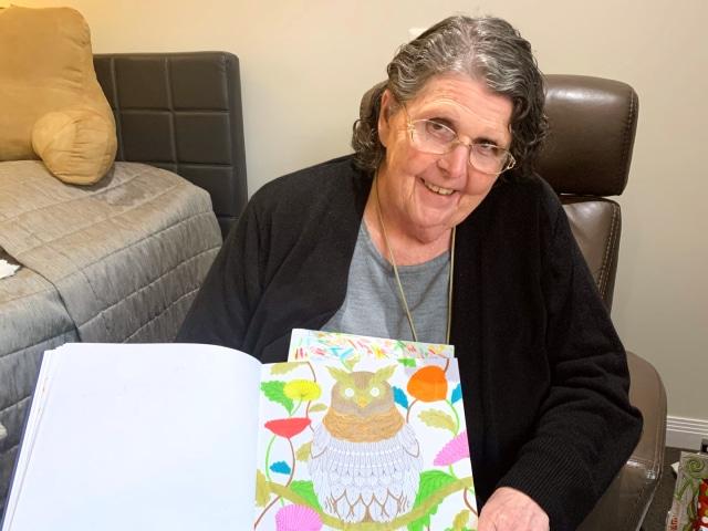 Arcare Aged Care Craigieburn Christine Artwork