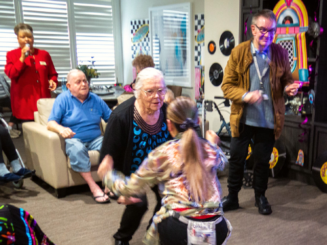 Arcare Aged Care Hillside Disco Party