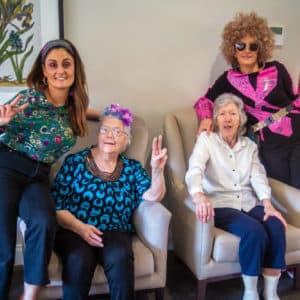 Arcare Aged Care Hillside Disco swinging sixties