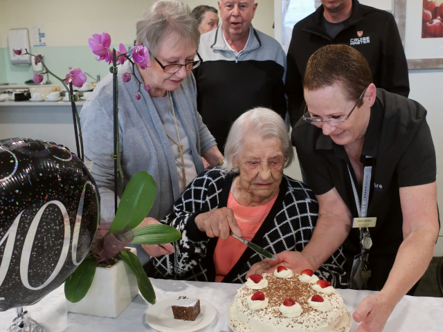Arcare Aged Care Knox 100thbirthday 1
