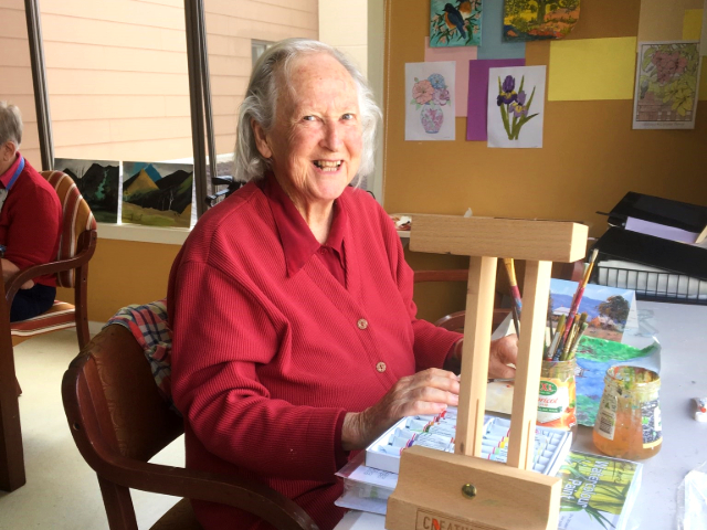Arcare Aged Care Knox Gwen-painting
