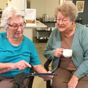 Arcare Aged Care Knox June Norma Ipad