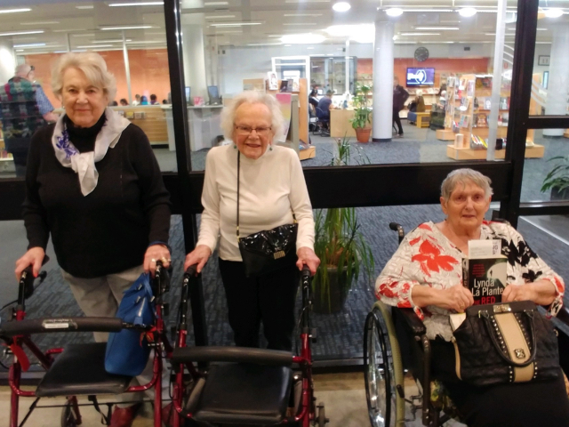 Arcare Aged Care Knox Library Visit