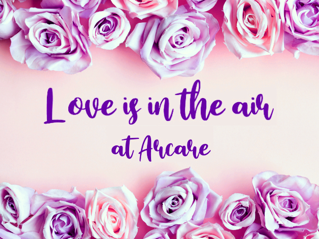 arcare aged care valentine's day 2020