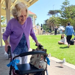 Arcare Aged Care Maidstone Altona Beach Outing