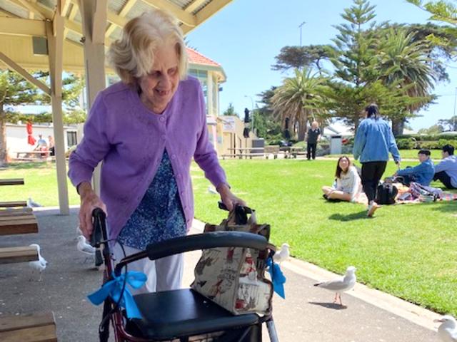 Arcare Aged Care Maidstone Altona Beach Outing