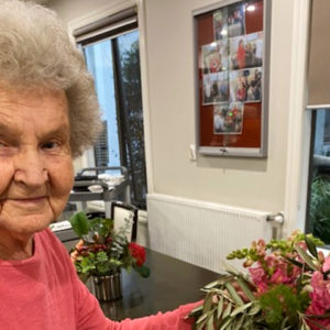 Arcare Aged Care Maidstone Margaret Miriam Flower Arranging