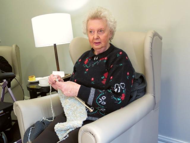 Arcare Aged Care Maidstone Volunteer Faye