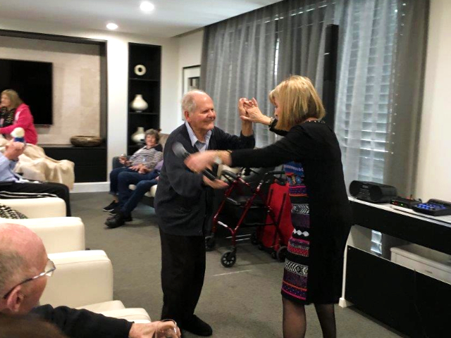 Arcare Aged Care Malvern East Dancing Happy