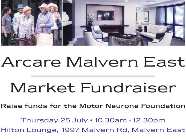 Arcare Aged Care Malvern East Market Fundraiser