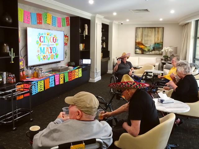 Arcare Aged Care Nirvana Mexican Day