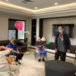 Arcare Aged Care Parkview Balloon Tennis