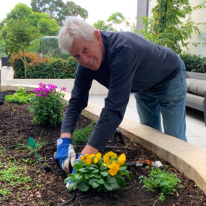 Arcare Aged Care Parkview Ian Gardening