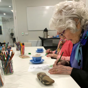 Arcare Aged Care Parkview Mindful Colouring