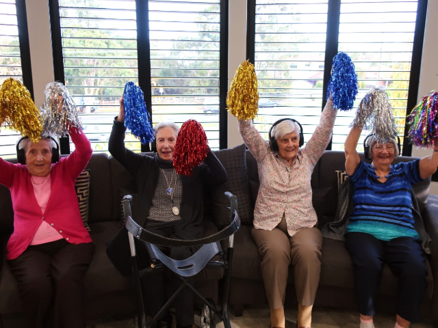 Arcare Aged Care Parkview Silentdisco