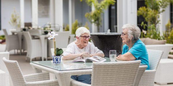 Arcare Aged Care Pimpama Courtyard