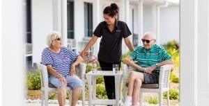 Arcare Aged Care Pimpama Courtyard2