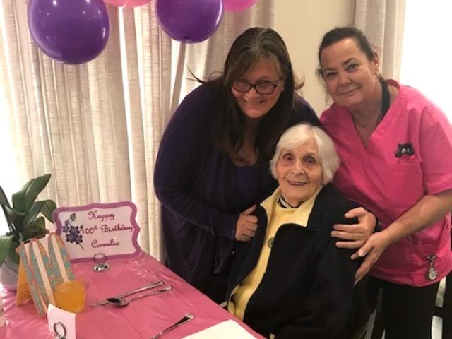Arcare Aged Care Portarlington Cornelia 100th Birthday