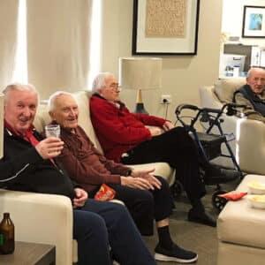 Arcare Aged Care Portarlington Fathers Day