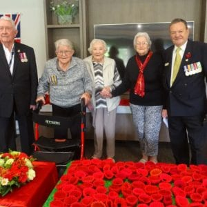 Arcare Aged Care Portarlington Remembrance Day_2019
