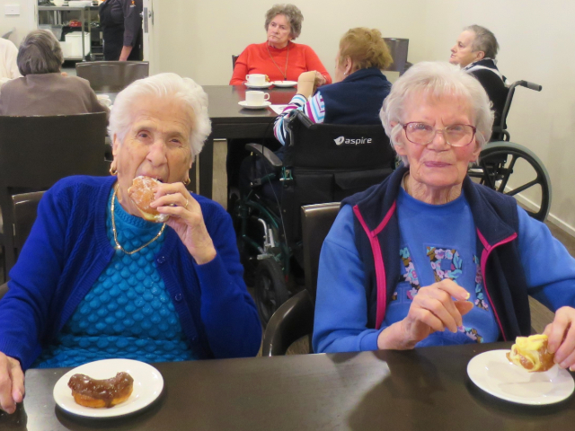 Arcare Aged Care Reservoir Donutday