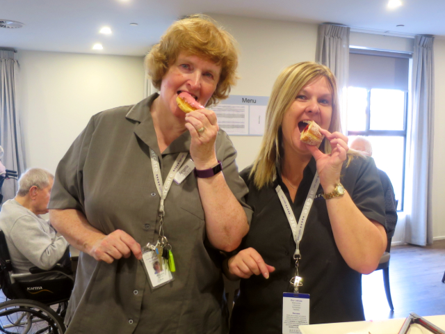 Arcare Aged Care Reservoir Donuts