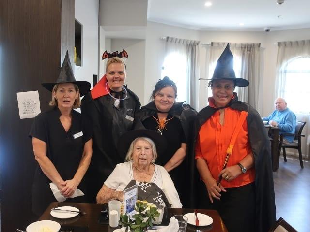 Arcare Aged Care St James Halloween