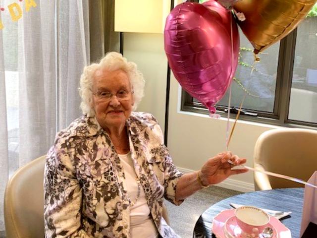 Arcare Aged Care Surrey Hills Beryl 95th Birthday