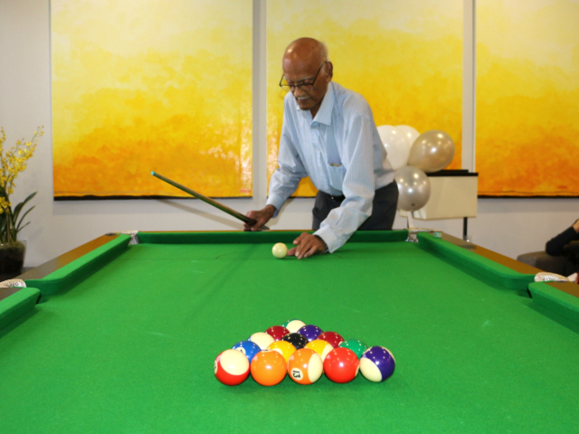 Arcare Aged Care Surrey Hills Pool Table Opening 5