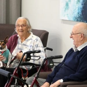 Arcare Aged Care Surreyhills Pettherapy