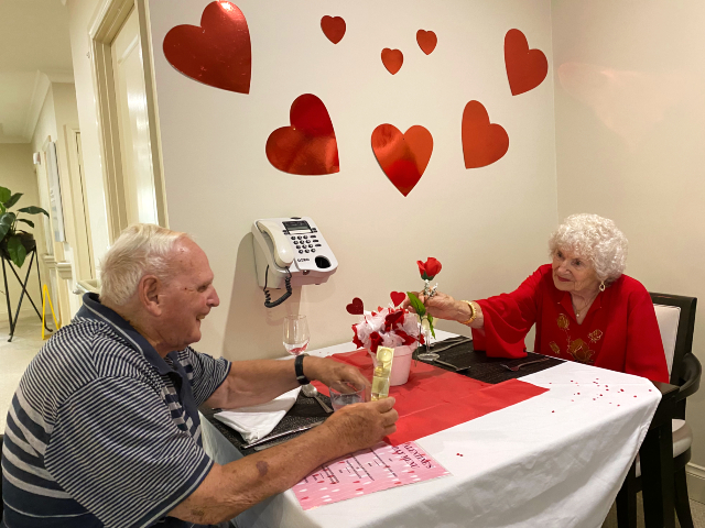 Arcare Aged Care Sydenham 2020 Valentines Love Is In The Air