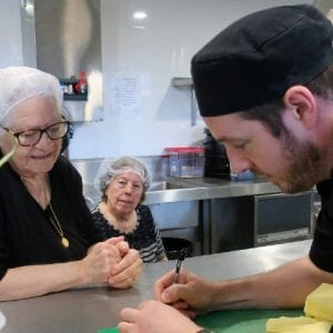 Arcare Aged Care Templestowe Greek Club Kitchen Activity