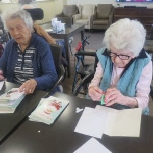 Arcare_Aged_Care_Maidstone_Card_Making