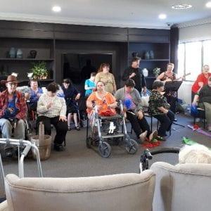 Arcare_Aged_Care_Maidstone_Flash_Mob